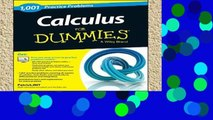 Best product  Calculus: 1,001 Practice Problems For Dummies (+ Free Online Practice) (For Dummies