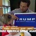 """Midterms : un candidat """"apprend"""" Donald Trump à ses enfants"""