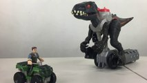 Walking INDORAPTOR Jurassic World Fisher-Price Imaginext Toy || Keith's Toy Box