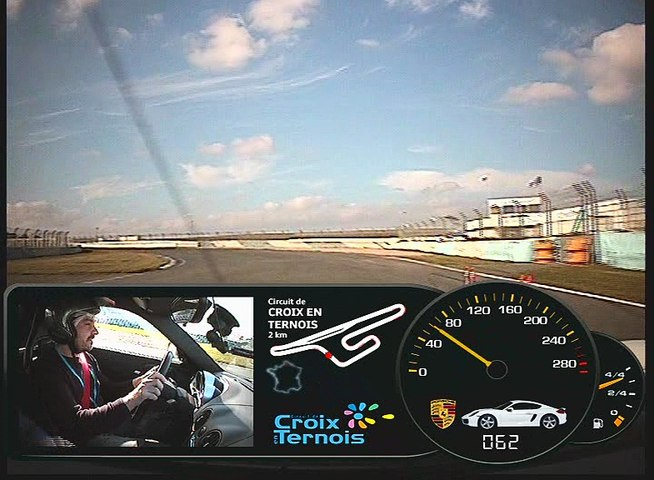 Votre video de stage de pilotage  B055191018CT0008