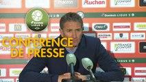 Conférence de presse RC Lens - Gazélec FC Ajaccio (5-0) : Philippe  MONTANIER (RCL) - Hervé DELLA MAGGIORE (GFCA) - 2018/2019