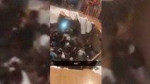 En images : le plancher d'une maison s'effondre lors d'une fête, au moins 30 blessés