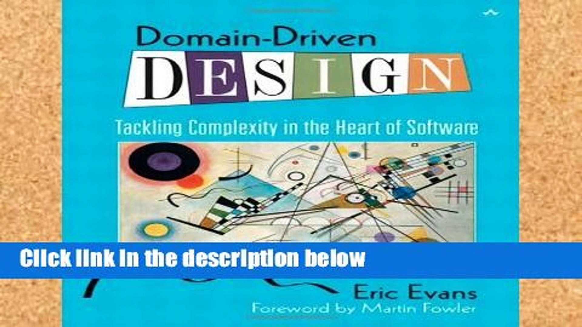 Popular Domain-Driven Design: Tackling Complexity in the Heart of Software