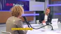 """""""Les dépenses d'arrêt maladie s'envolent plus vite que la masse salariale"""", déclare Muriel Pénicaud, ministre du Travail"""