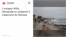 L'ouragan Willa, rétrogradé en catégorie 4 mais «extrêmement dangereux», s'approche du Mexique