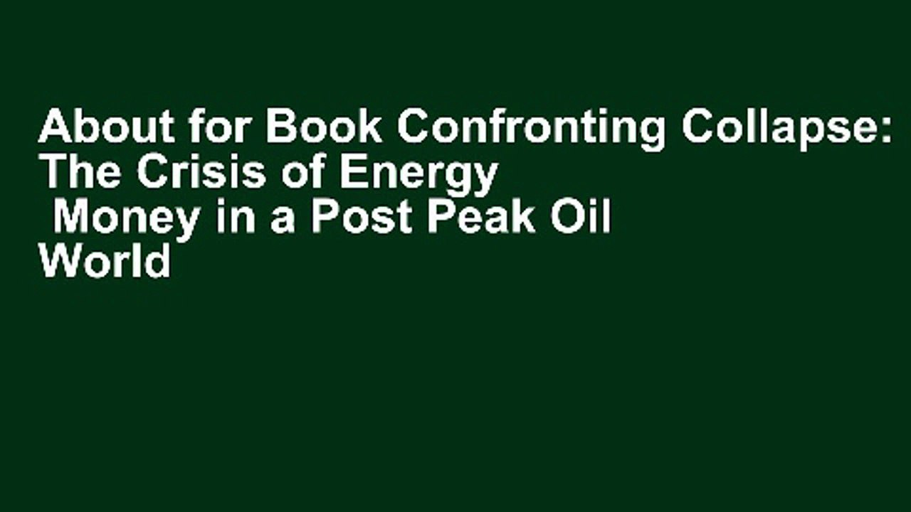 Michael Ruppert on Peak Oil and Collapse