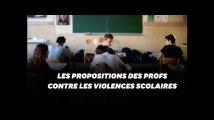 Quatre recommandations des profs pour lutter contre les violences scolaires