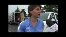 Cathy Billon : ses impressions avant le départ de l'épreuve minimes-cadettes