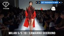 Milan Fashion Week Spring/Summer 2019 - Ermanno Scervino | FashionTV | FTV