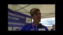 La Marseillaise pour Alexys Brunel, champion de France espoirs du contre la montre