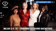 Milan Fashion Week Spring/Summer 2019 - Ermanno Scervino Backstage | FashionTV | FTV