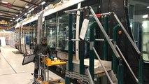 Le tramway Citadis X05 en construction