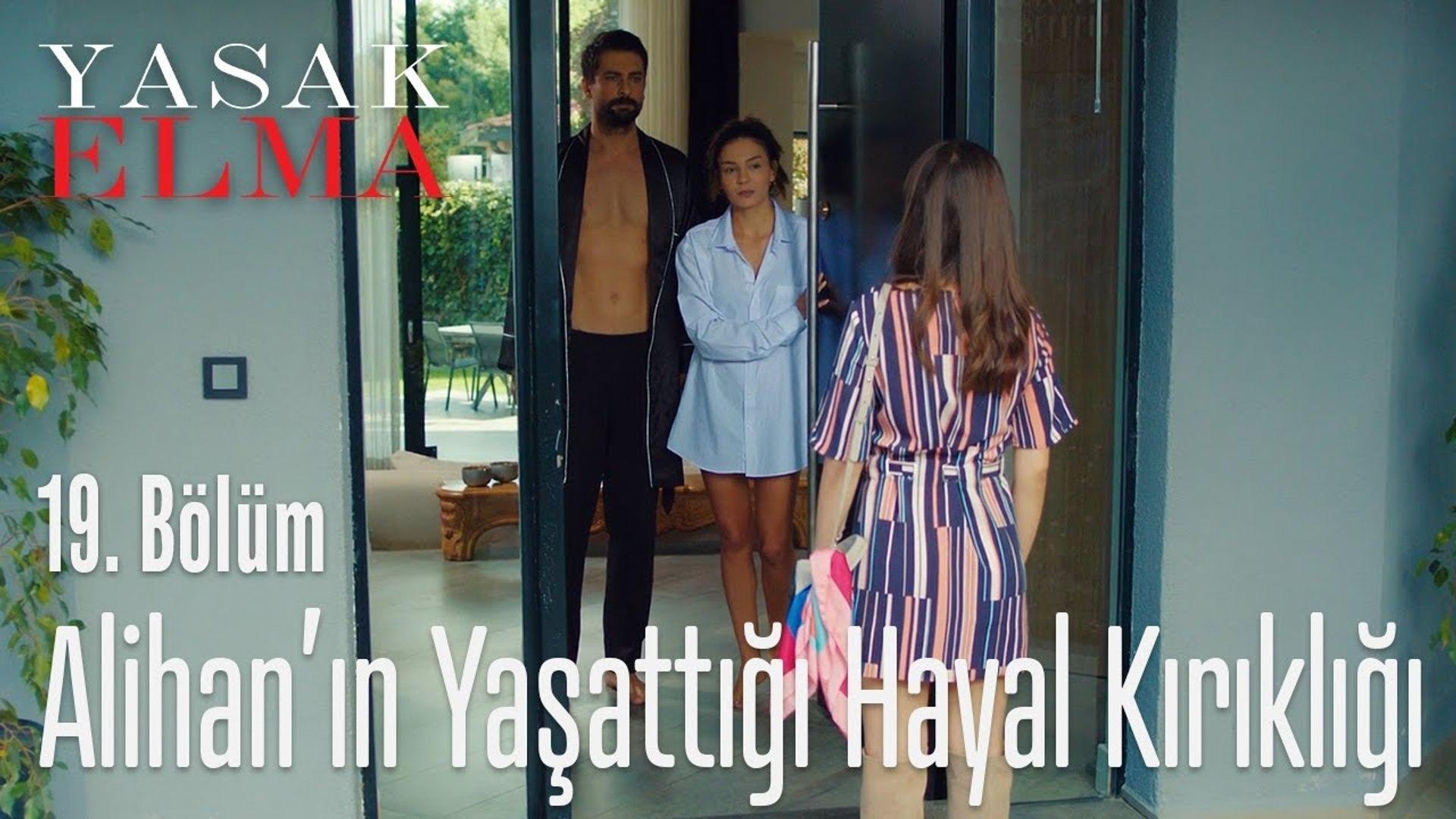 Alihan, Zeynep'i hayal kırıklığına uğrattı - Yasak Elma 19. Bölüm