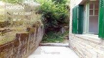 CORREZE. Ville de Corrèze. Maison en pierre avec 4 chambres, grand garage double, jardin et une belle vue.