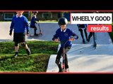 School becomes first in UK to build its own scooter park | SWNS TV