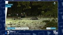 Les images impressionnantes des chutes de grêle en Italie