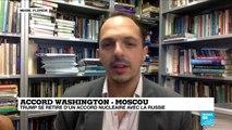 """Accord Washington-Moscou: """"Ce retrait américain donne une carte blanche à Poutine"""""""