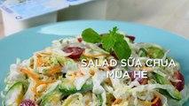 Món ngon từ sữa chua Vinamilk – Hướng dẫn cách làm SALAD SỮA CHUA MÙA HÈ