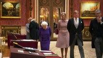 Queen hosts Dutch royals at Buckingham Palace