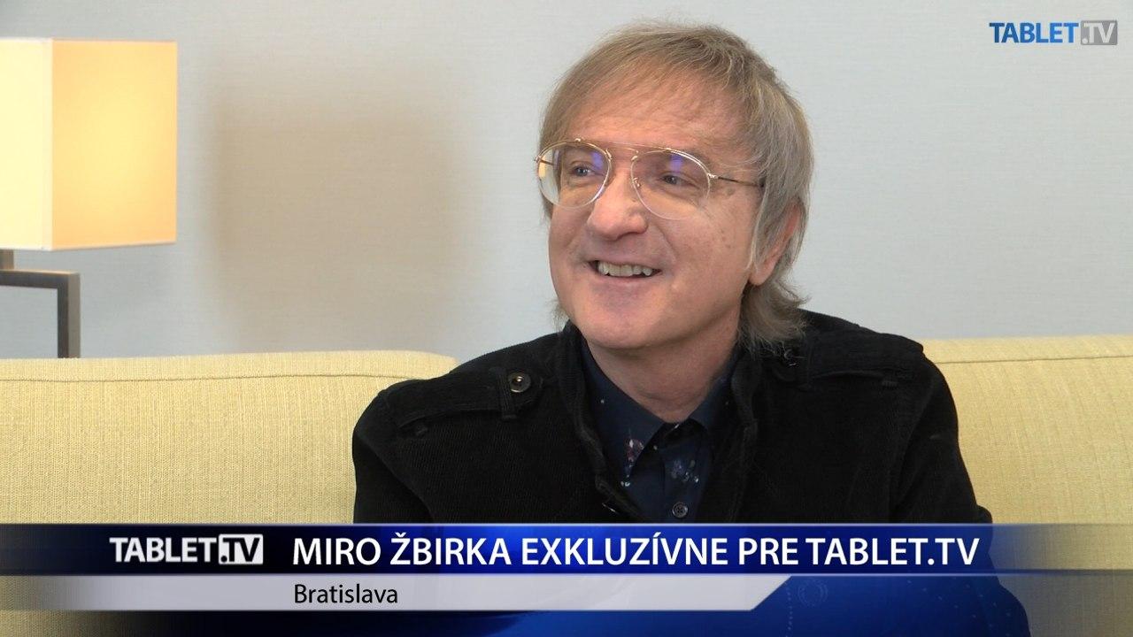 MIRO ŽBIRKA exkluzívne pre TABLET.TV: Takmer som skončil ako raper