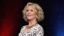Jane Fonda, atriz e ativista, premiada no Festival Lumière