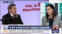 """Sophia Chikirou: """"Je n'étais donneur d'ordre"""" lors de la campagne de Jean-Luc Mélenchon"""