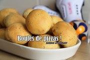 #LGDK : Boules de pizza (Pizza bowls) : Jambon & Fromage