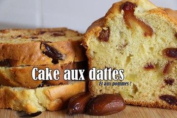 #LGDK : Cake aux dattes et aux pommes