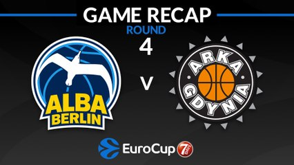 7Days EuroCup Highlights Regular Season, Round 4: ALBA 82-68 Gdynia