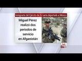 Miguel Pérez, Inmigrante del ejército de EU, será deportado, por tráfico de cocaína en Chicago