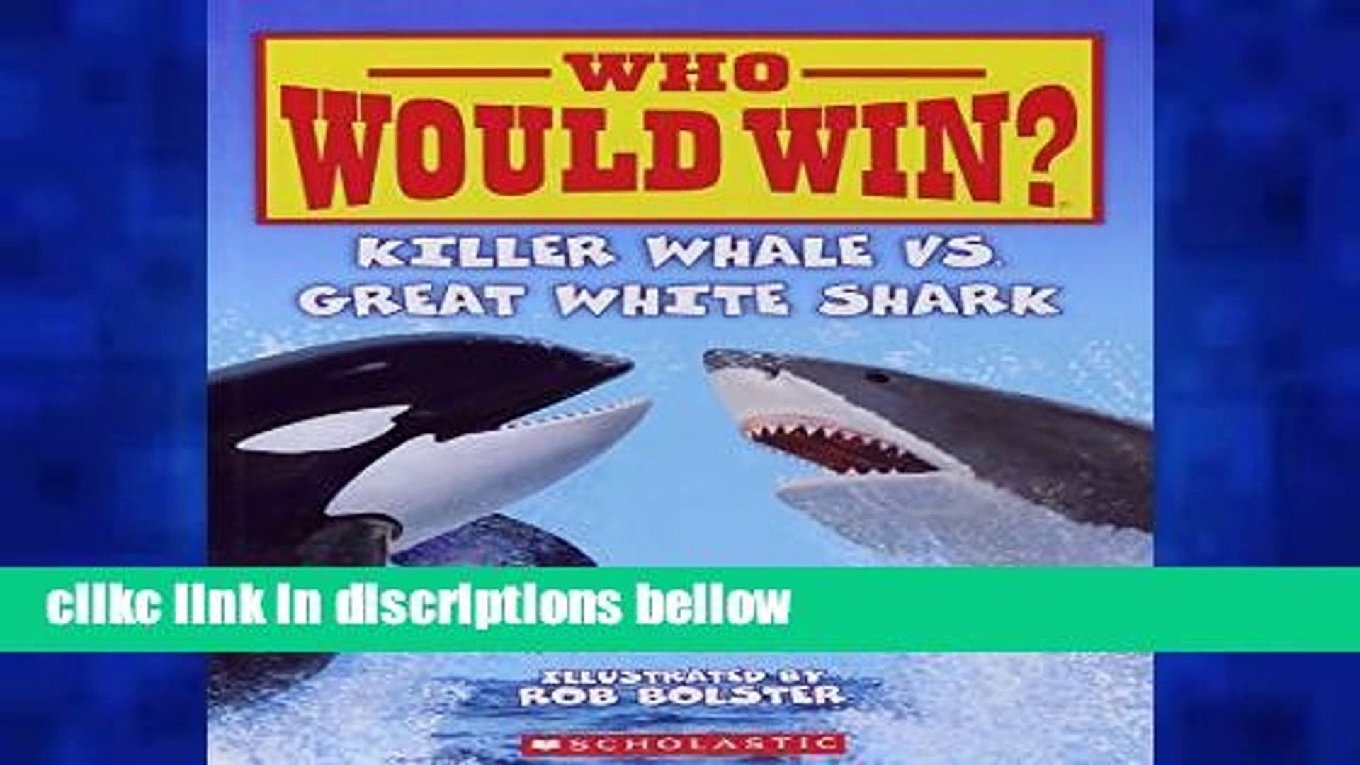[P D F] Killer Whale vs  Great White Shark (Who Would Win?) [E B O O K]