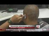 Denuncian extorsiones telefónicas en Matamoros