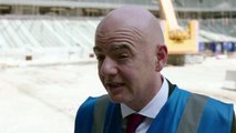 Ambient: 'Qatar World Cup must be better than Russia' - FIFA President Infantino