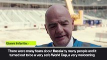 Eng Sub: 'Qatar World Cup must be better than Russia' - FIFA President Infantino