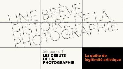 MOOC Une brève histoire de la photographie - Les débuts de la photographie - La quête de légitimité artistique
