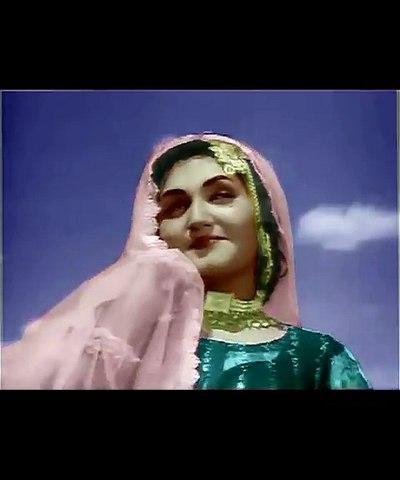 Clip in Color - Way Aa Kay Tur Jaan Waleya - Noor Jehan - Film Nooraan