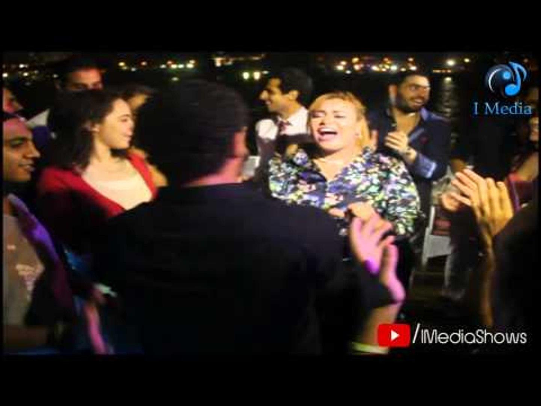 فرح وائل العوني | شاهد رقص دينا محسن (ويزو) تياترو مصر على أغنية شعبي . نار