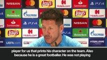 Eng Sub: 'Costa gives us strength' Simeone praises Atletico Madrid star