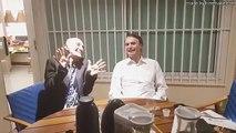 Bolsonaro se diverte com desespero do PT junto a Amin Khader eo  bope tropa de elite