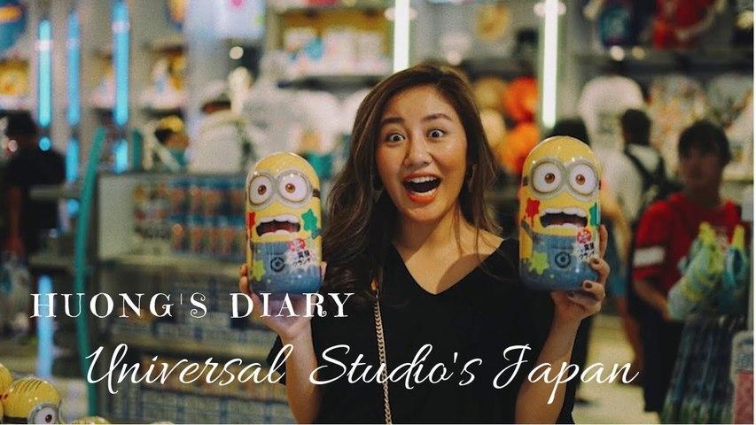 Hương's Diary- Universal Studio's Japan - Văn Mai Hương OFFICAL