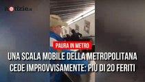 Roma, cede la scala mobile in metropolitana: oltre 20 feriti| Notizie.it