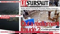 Le Titrologue du 24 Octobre 2018 : Abobo, Bassam, Port-Bouët, Plateau... , Qui a réellement fraudé ?