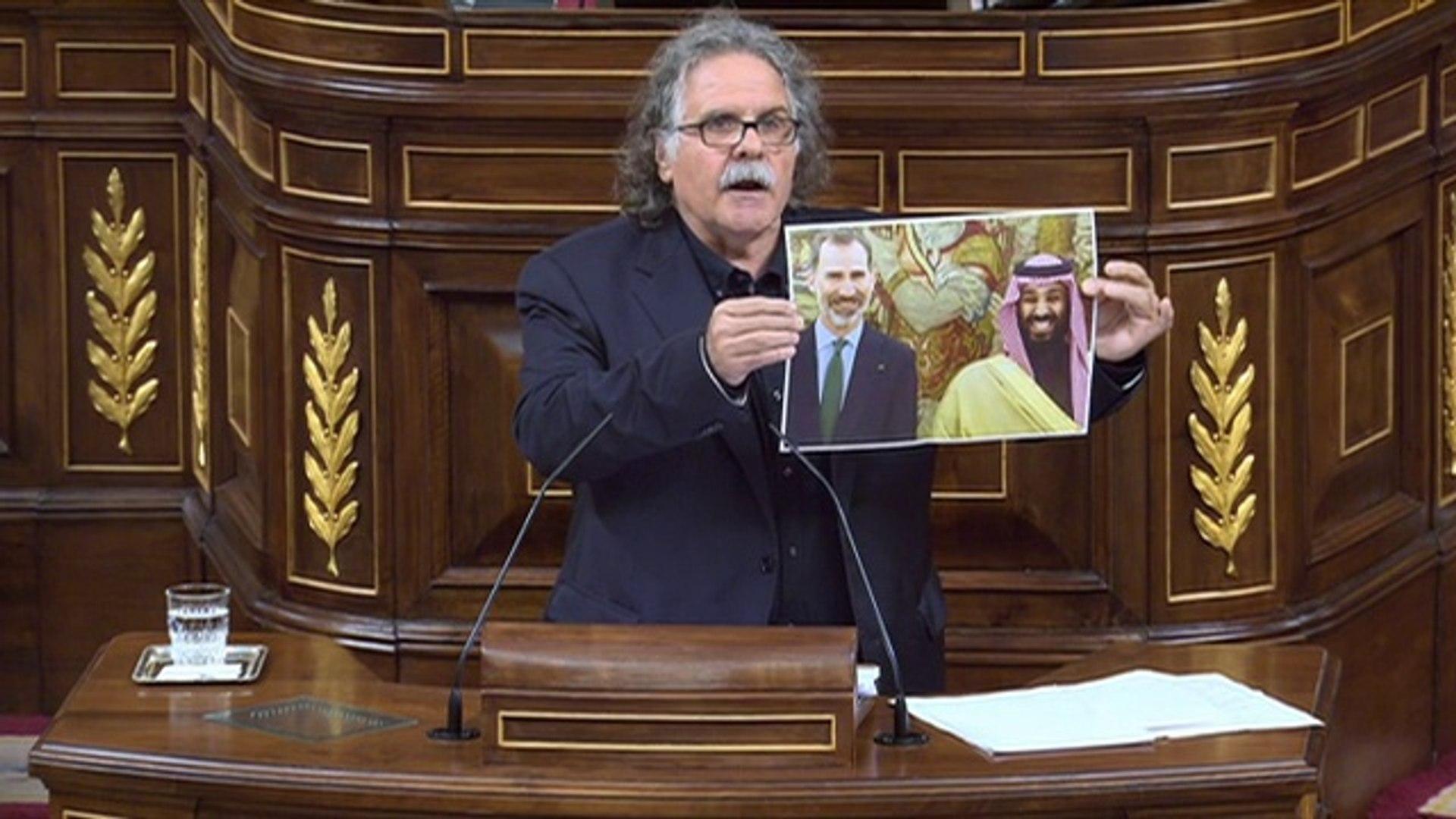 Intervenció de Joan Tardà sobre la venda d'armes a l'Aràbia Saudita