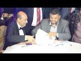 فرح طارق الشناوي | شاهد لحظة كتب الكتاب مع المأذون - شاهد الفرحة على وجة طارق الشناوي
