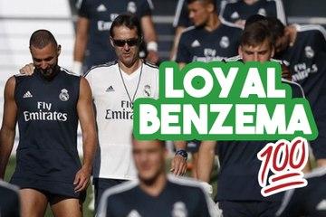 Benzema, la loyauté ça le connait !