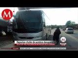 Desaparece chofer de autobús en Guerrero; hallan el camión con huellas de sangre
