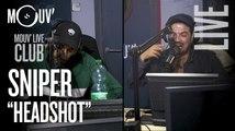"""SNIPER   """"Headshot"""" (Live @Mouv' Studios)"""