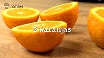 Batido de yogur y piel de naranja antiviral
