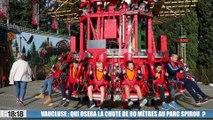 Le 18:18 : qui osera la chute de 90 mètres à 135 km/h au Parc Spirou de Monteux ?