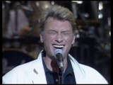 Johnny Hallyday - répétitions -  Bercy 1990